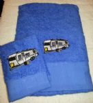 CARAVAN PERSONALISED TOWEL SET